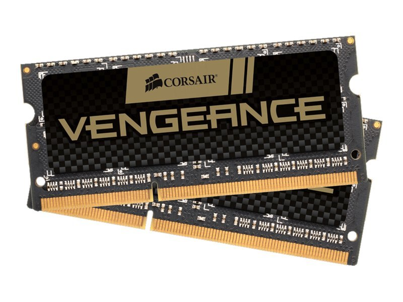 Corsair Vengeance - DDR3 - 16 GB: 2 x 8 GB - SO DIMM 204-PIN - 1600 MHz / PC3-12800 - CL10