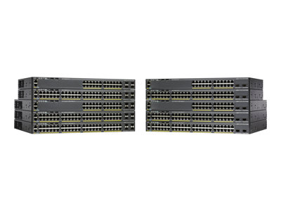 Cisco Catalyst 2960X-24TS-L - switch - 24 ports - managed - rack-mountable