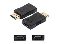AddOn HDMI Adapter HDMI adapter HDMI (F) to HDMI (M) black