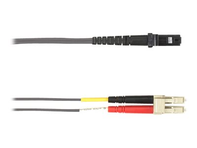 Black Box patch cable - 1 m - gray