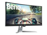 "BenQ EX3501R - LED monitor - curved - 35"" - 3440 x 1440 Ultra WQHD - VA - 300 cd/m² - 4 ms - HDMI, DisplayPort, USB-C - grey"