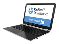 HP Pavilion TouchSmart 15-n260us A8 5545M / 1.7 GHz Win 8.1 6 GB RAM 750 GB HDD
