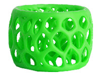 3D Systems - Neon green - ABS filament ( 3D ) - for 3D Systems CubePro, CubePro Duo, CubePro Trio