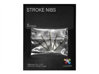 Wacom Stroke Pen Nibs - Pointe de stylo numérique (pack de 5) - pour Intuos4 Large, Medium, Small, Wireless, X-Large