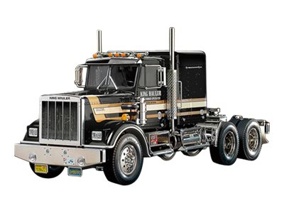 R/C Tractor Truck Series - King Hauler Black Edition