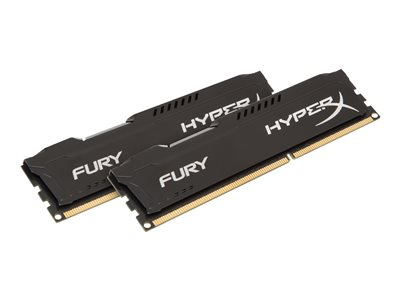 HyperX FURY - DDR3 - 8 GB: 2 x 4 GB - DIMM 240-PIN