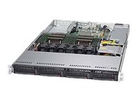 Supermicro SuperServer 6018R-TDW Server rack-mountable 1U 2-way no CPU RAM 0 GB