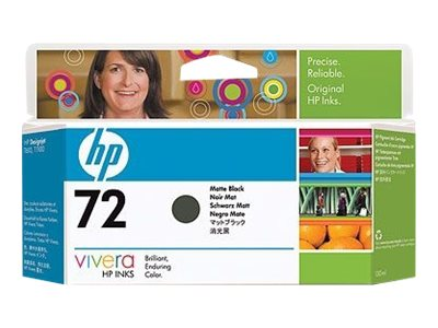 HP 72 - matte black - original - ink cartridge