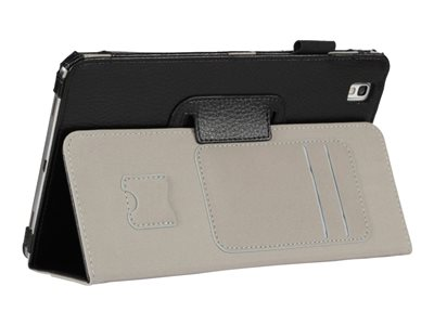 i-Blason Slim Book Flip cover for tablet synthetic leather black 8.4INCH