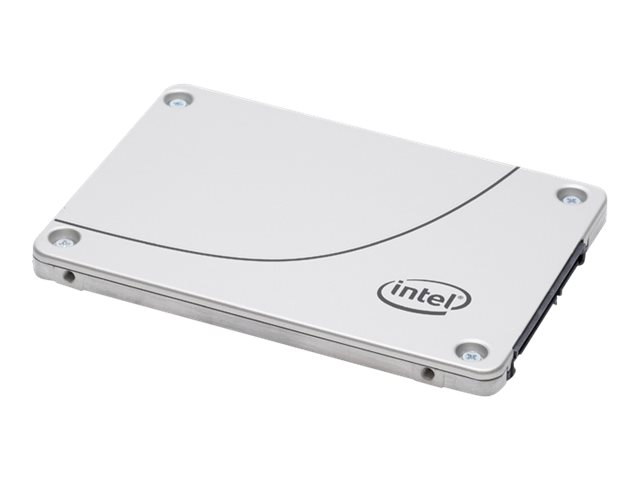 "Intel Solid-State Drive D3-S4610 Series - Disque SSD - chiffré - 3.84 To - interne - 2.5"" - SATA 6Gb/s - AES 256 bits"