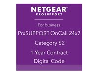 NETGEAR ProSupport OnCall 24x7 Category S2 Technical support phone consulting 1 year 2