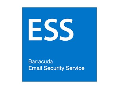Barracuda Email Security Service - subscription license renewal (1 year) -  1 license