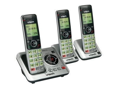 VTech CS6629-3 Cordless phone answering system with caller ID/call waiting