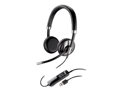 Plantronics Blackwire C720-M Trådløs Sort Headset
