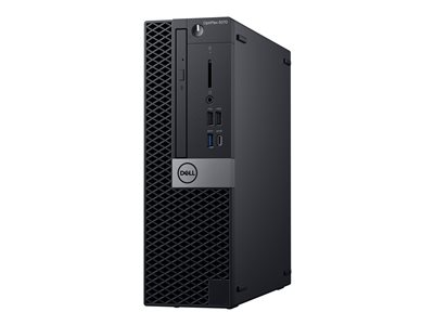 Dell OptiPlex 5070 SFF Core i5 9500 / 3 GHz RAM 8 GB HDD 500 GB DVD UHD Graphics 630