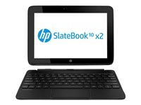 HP SlateBook x2 10-h010nr Tablet with keyboard dock Tegra 4 T40S / 1.8 GHz