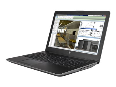 "HP ZBook 15 G4 Mobile Workstation - 15.6"" - Core i7 7820HQ - 16 GB RAM - 512 GB SSD"