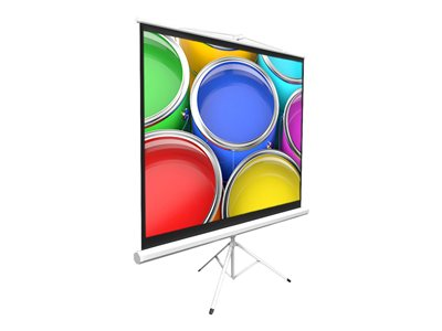 Pyle Pro PRJTP84 Projection screen with tripod 84INCH (83.9 in) 4:3 Matte White white
