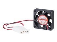 StarTech.com 40x10mm Replacement Dual Ball Bearing Computer Case Fan w/ LP4 - System fan kit - 40 mm