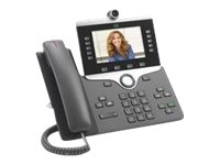 Cisco IP Phone 8865 - IP video phone - with digital camera, Bluetooth interface