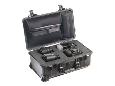 Pelican 1510LFC Case for camera and lenses high-impact polycarbonate black