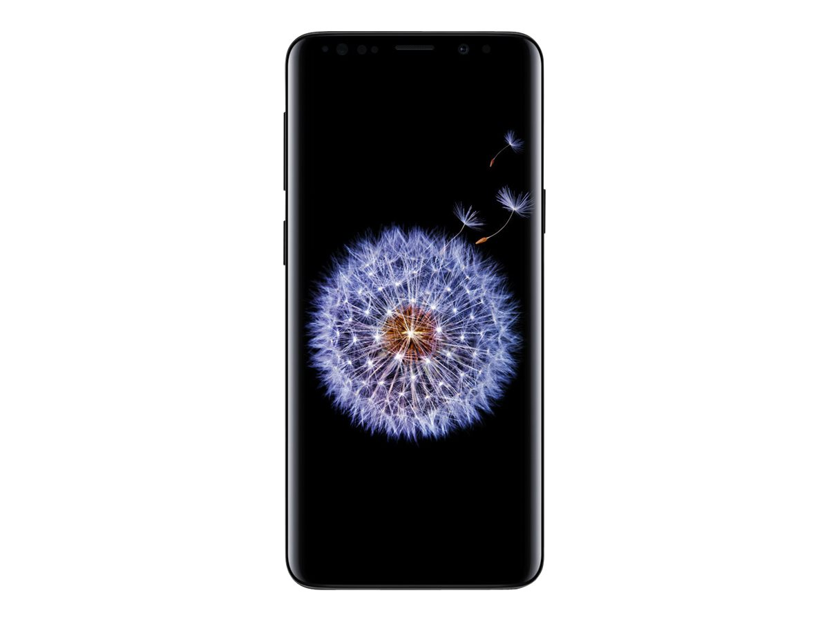 Samsung Galaxy S9 - midnight black - 4G - 64 GB - CDMA / GSM - smartphone
