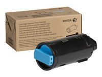 Xerox VersaLink C500 - High Capacity - cyan - original - toner cartridge - for VersaLink C500, C505