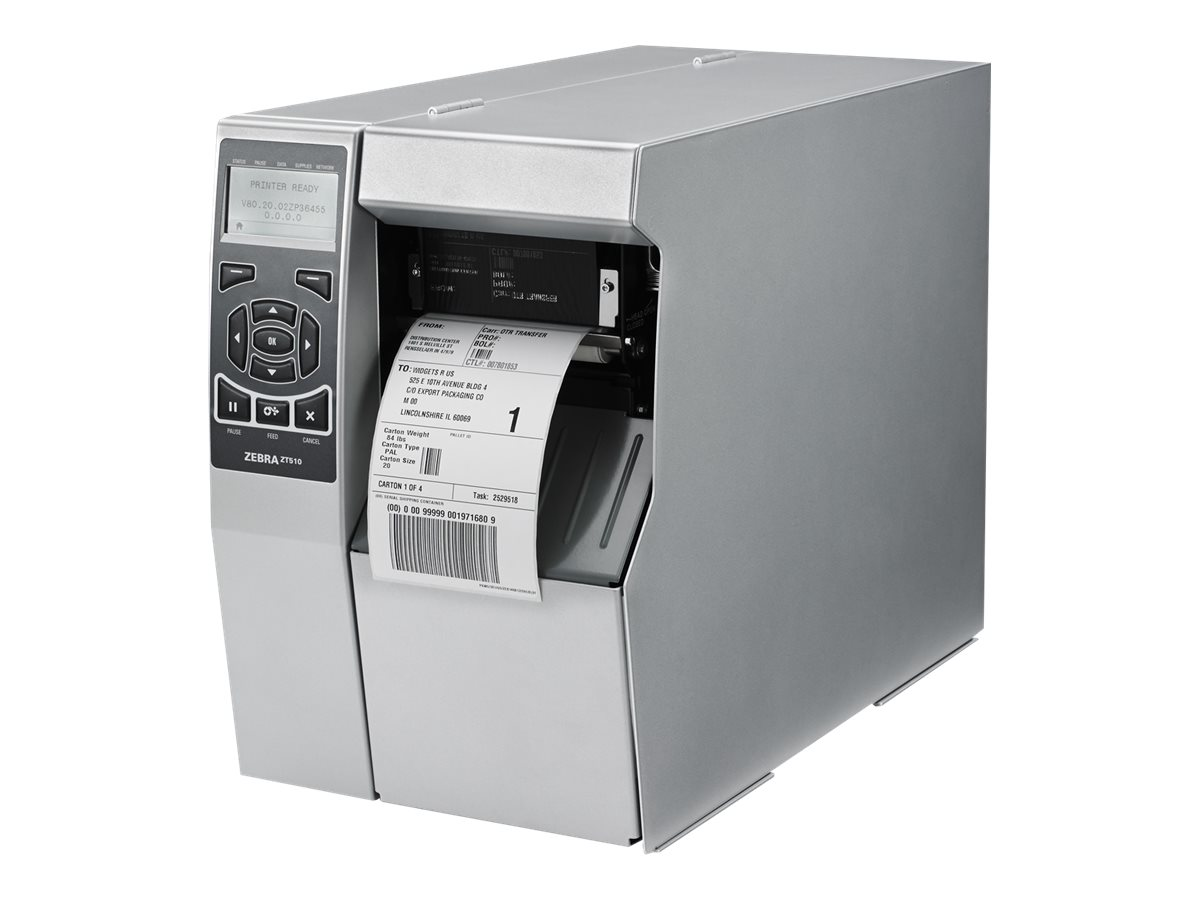 Zebra ZT510 - label printer - B/W - direct thermal / thermal transfer