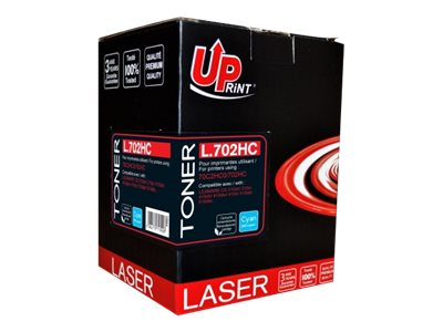 compatibles Lexmark UPrint L.702HC - cyan - cartouche laser remanufacturée (alternative pour : Lexmark 70C2HC0)