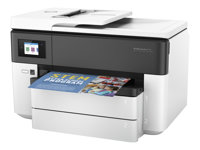 HP Officejet Pro 7730 Wide Format All-in-One - Imprimante multifonctions - couleur - jet d'encre - 216 x 356 mm (original) - A3 (support) - jusqu'à 34 ppm (copie) - jusqu'à 34 ppm (impression) - 250 feuilles - 33.6 Kbits/s - USB 2.0, LAN, Wi-Fi(n), hôte USB