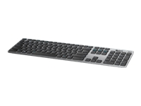 Dell KM717 Premier - Keyboard and mouse set - Bluetooth, 2.4 GHz - gray - for Inspiron 7391 2-in-1; OptiPlex 5270, 7760; Precision Mobile Workstation 55XX, 77XX