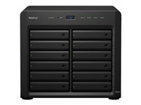 Synology Disk Station DS2419+ NAS server 12 bays SATA 6Gb/s RAID 0, 1, 5, 6, 10, JBOD