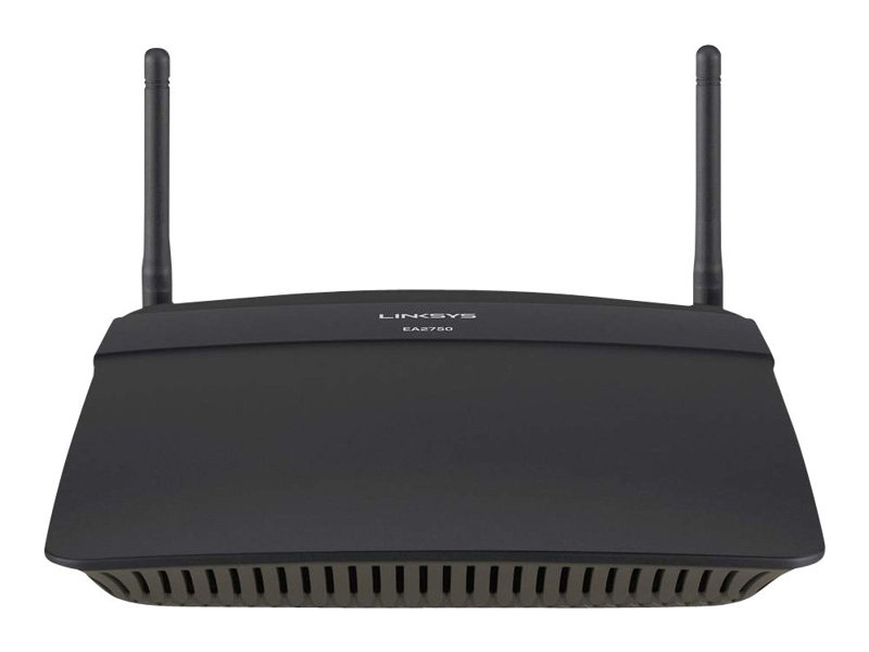 Linksys EA2750 - Wireless Router - 4-Port-Switch - GigE - 802.11a/b/g/n - Dual-Band