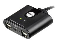 ATEN US224 2-Port USB Peripheral Sharing Device