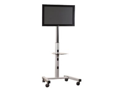 Chief MFC-US Cart for flat panel (telescopic) aluminum silver