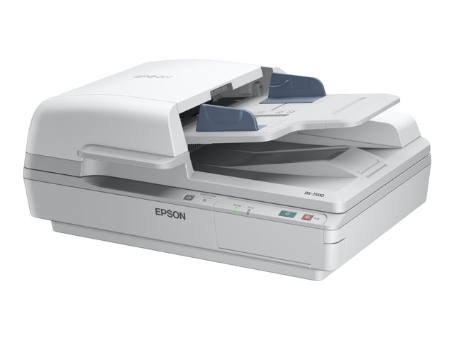 Epson WorkForce DS-6500 - Scanner de documents - Recto-verso - A4 - 1200 ppp x 1200 ppp - jusqu'à 25 ppm (mono) / jusqu'à 25 ppm (couleur) - Chargeur automatique de documents (100 feuilles) - jusqu'à 3000 pages par jour - USB 2.0