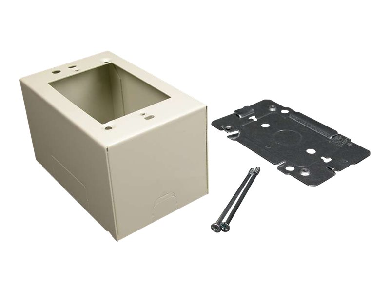 C2G Wiremold 2400 Single Gang Extra Deep Device Box Fitting - cable raceway device box fitting