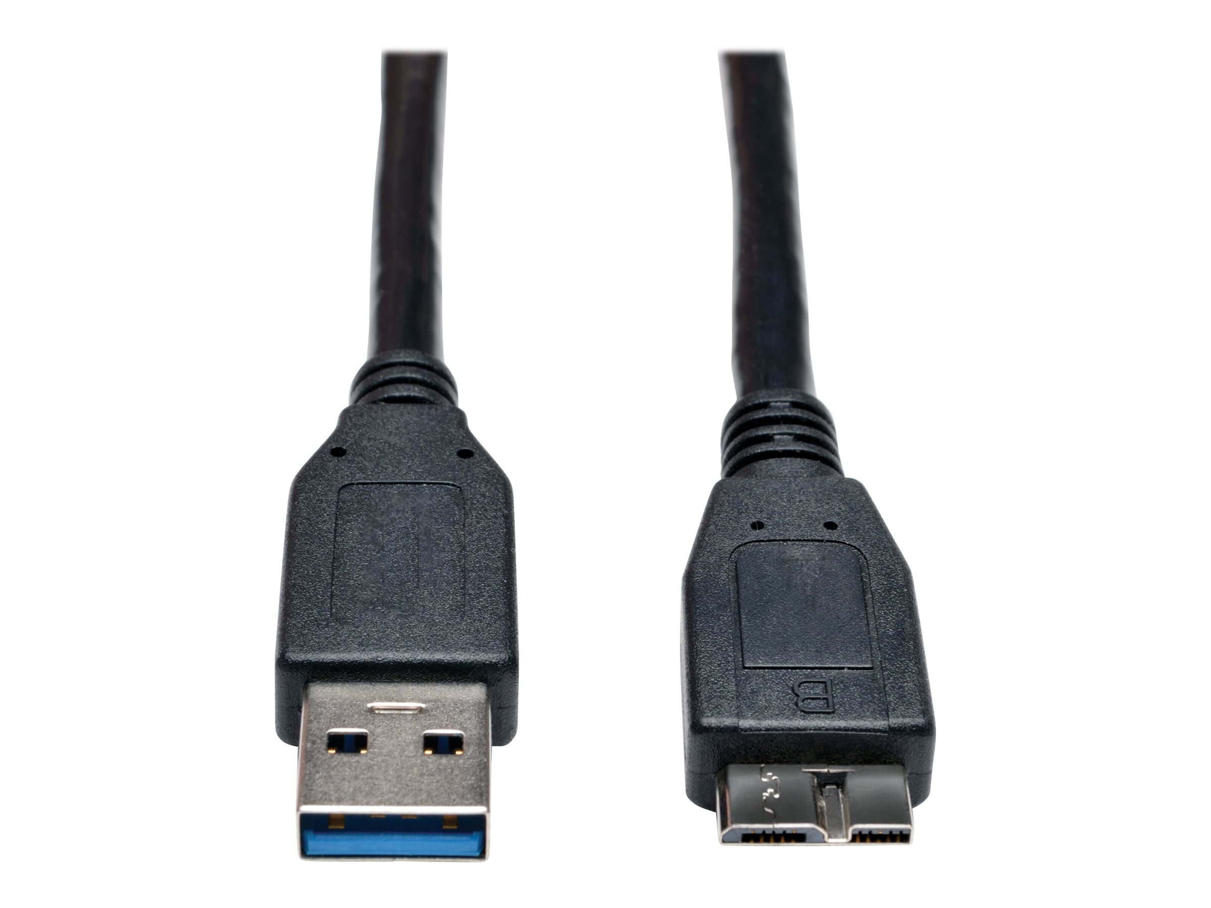 Tripp Lite 6ft USB 3.0 SuperSpeed Device Cable USB-A Male to USB Micro-B Male Black 6' - USB cable - 1.83 m
