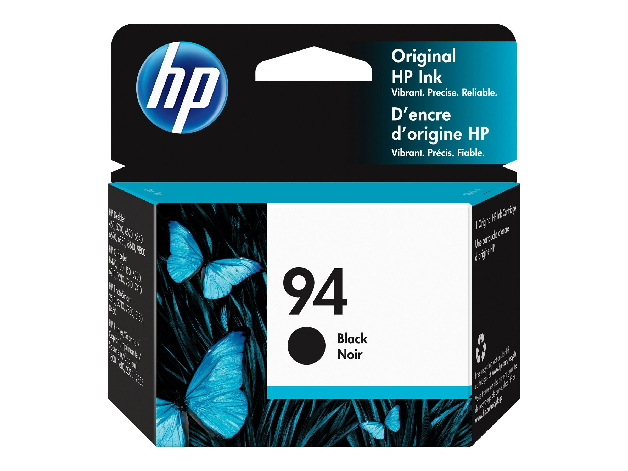 HP 94 - black - original - ink cartridge