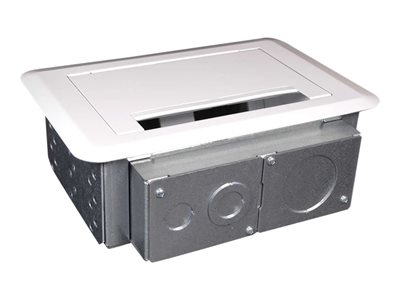 C2G Wiremold Evolution(TM) Series Four Gang Wall Box (TAA Compliant) Surface mount box