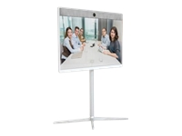 Cisco Spark Room 55 - GPL - video conferencing kit - with Cisco Floor Stand Kit (CS-ROOM55-FSK), 2 x