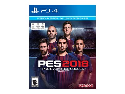 Pro Evolution Soccer 2018 Legendary Edition PlayStation 4