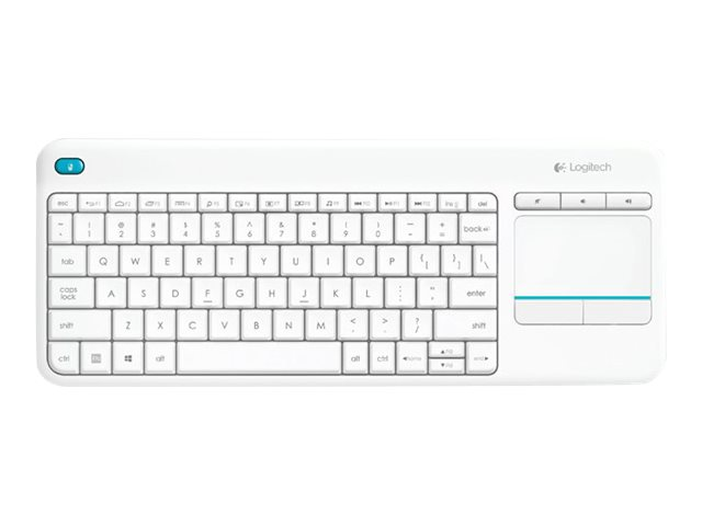 Image of Logitech Wireless Touch Keyboard K400 Plus - keyboard - English