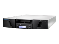 Quantum SuperLoader 3 with (Model C) drive(s) - Tape autoloader - 96 TB / 240 TB - slots: 16 - LTO Ultrium (6 TB / 15 TB) - Ultrium 7 - SAS-2 - rack-mountable - 2U - barcode reader, with 1 mail slot