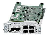 Cisco Network Interface Module - Expansion module - FXS/DID x 2 + FXO x 4 - refurbished - for Cisco 4451-X; Integrated Services Router 4221, 4321, 4331, 4351, 4431