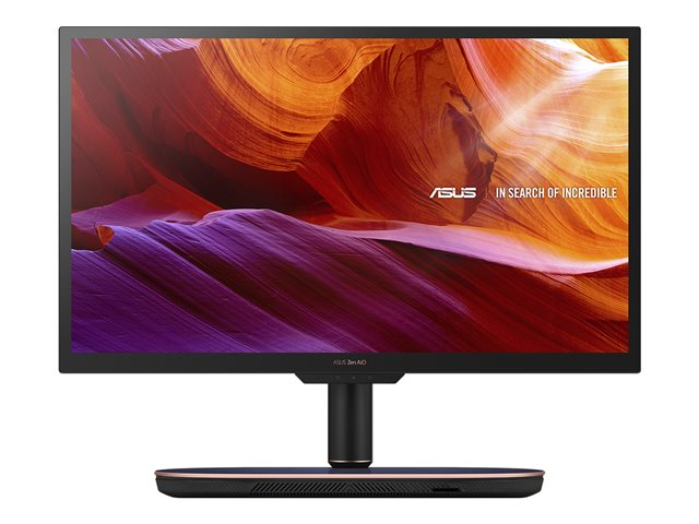 "ASUS Zen AiO 27 Z272SDK - Tout-en-un - 1 x Core i7 8700T / 2.4 GHz - RAM 8 Go - SSD 256 Go - NVMe, HDD 1 To - NVIDIA GeForce GTX 1050 - GigE, Bluetooth 5.0 - LAN sans fil: 802.11ac, Bluetooth 5.0 - Win 10 Pro 64 bits - moniteur : LED 27"" 1920 x 1080 (Full HD)"