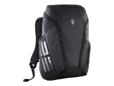 Alienware Elite Notebook carrying backpack black, dark gray, heathered gray