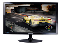 "Samsung S24D330H - SD300 Series - LED monitor - 24"" - 1920 x 1080 Full HD (1080p) - TN - 250 cd/m² - 1000:1 - 1 ms - HDMI, VGA - high glossy black"