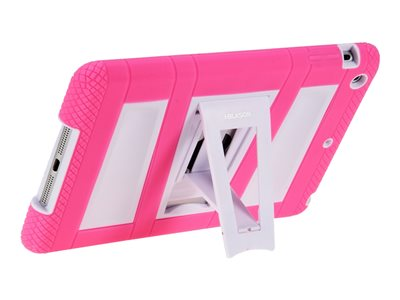 i-Blason ArmorBox Back cover for tablet silicone, polycarbonate white, pink