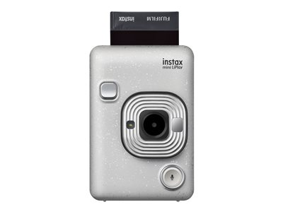 Fujifilm Instax Mini LiPlay Digital camera compact with photo printer stone white